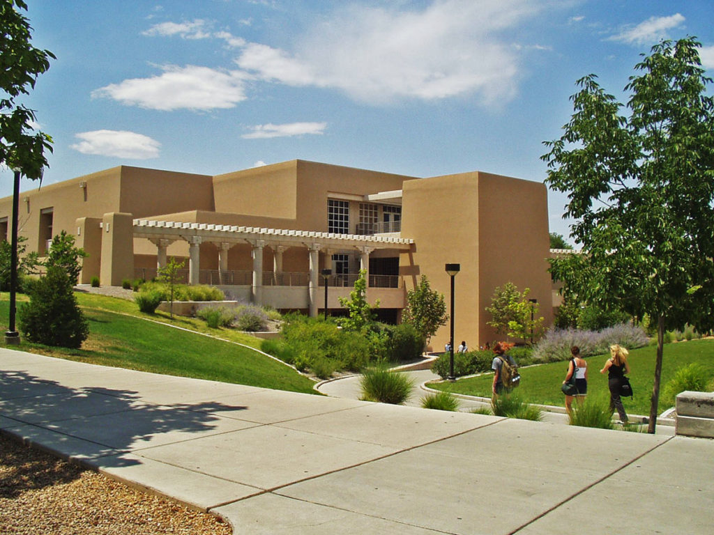 UNM Dane Smith Hall