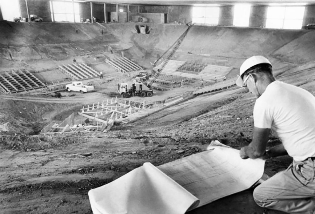 UNM Pit Construction