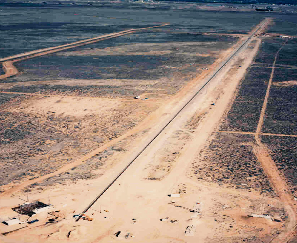 Sandia National Labs – Rocket Sled Track